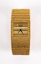 A Gentleman's Gold & Diamond Wristwatch by Piaget