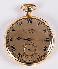 A Hardy and Hayes Waltham Co. Pocket Watch