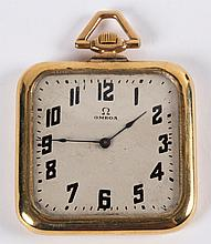 An Omega Pocket Watch