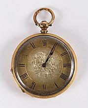 A Pocket Watch engraved