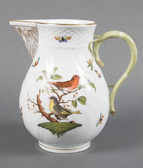 Herend porcelain pitcher in the