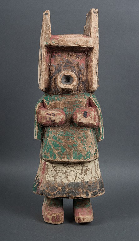 Hopi carved and painted cottonwood kachina doll