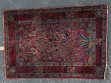 Antique Keshan prayer rug, approx. 2 x 2.11