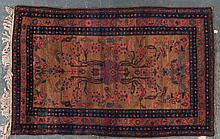 Semi-antique Bibikabad rug, approx. 4.6 x 6.11