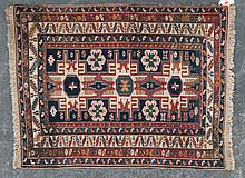 Antique Lesghi Star Shirvan rug, approx. 3 x 4