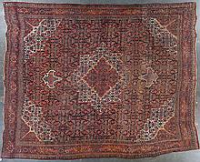 Antique Bijar carpet, approx. 11.9 x 14.7