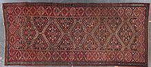 Antique Bijar gallery rug, approx. 5.5 x 12
