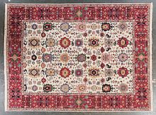Soumak carpet, approx. 8.10 x 11.8