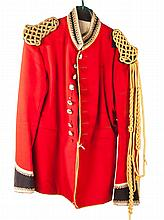 Britsh uniform tunic: Royal Household Life Guards