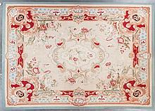 Aubusson weave carpet, approx. 10.2 x 14.2