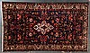 Antique Bahktiari rug, approx. 5.6 x 9.8
