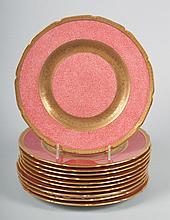 11 Royal Doulton china plates