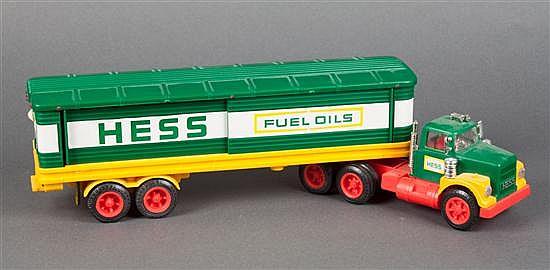 Hess trailer truck