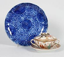 Two pieces of Japanese porcelain
