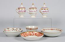 9 pieces of Chinese Export & European porcelain