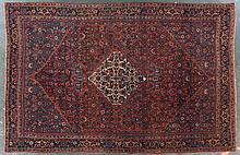 Antique Bijar rug, 7.4 x 11.3