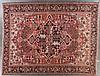 Antique Herez carpet, 9.10 x 12.10