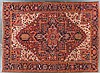 Semi-antique carpet, 9.5 x 13.4