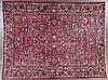 Semi-antique Sarouk carpet, approx. 10.5 x 13.6