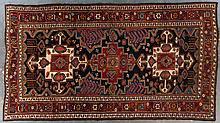 Semi-antique Lori gallery rug, 7.1 x 13
