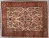 Antique Sarouk rug, 8.11 x 11.3