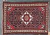 Semi-antique Hamadan rug, approx. 3.5 x 4.9