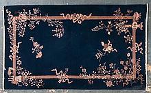 Antique Nichols rug, approx. 4 x 6.6