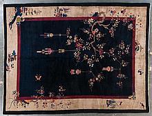 Antique Nichols/Fette rug, approx. 9 x 11.8