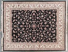 Sino Keshan rug, approx. 8.1 x 10.1