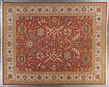 Soumak carpet, approx. 12 x 15