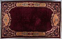 Antique Nichols carpet, approx. 10.9 x 17.2