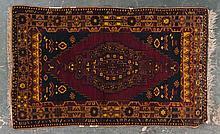 Turkish Tribal rug, approx. 4.3 x 6.10