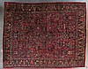 Antique Sarouk carpet, approx. 8.11 x 11.5