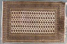 Pakistani Bohkara rug, approx. 6.4 x 9.5