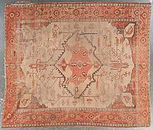 Antique Serapi carpet, approx. 9.9 x 11.3