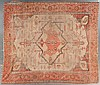 Antique Serapi carpet, approx. 9.9 x 11.3