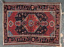 Antique Hamadan rug, approx. 3.7 x 4.10