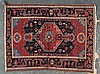 Antique Hamadan rug, approx. 3.7 x 4.10