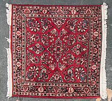 Persian Sarouk rug, approx. 3.1 x 3.3