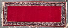 Persian Keshan runner, approx. 3.2 x 7.10