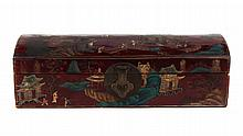 Chinese lacquered storage box