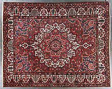 Antique Bahktiari carpet, approx. 10.6 x 13.1