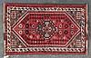 Persian Shiraz rug, approx. 2.7 x 4.2