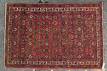 Antique Hamadan rug, approx. 3.3 x 4.9