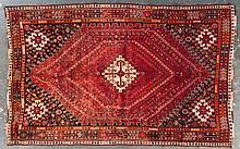 Shiraz rug, approx. 6.2 x 9.7