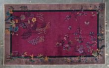Antique Nichols Chinese rug, approx. 4.2 x 6.9