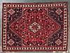 Shiraz rug, approx. 5.11 x 8.1