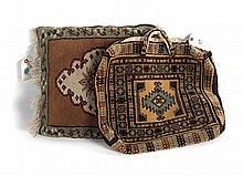 Persian Yamout handbag & Turkish Milas pillow