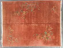 Antique Nichols rug, approx. 7.8 x 9.6