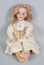 German bisque and composition doll